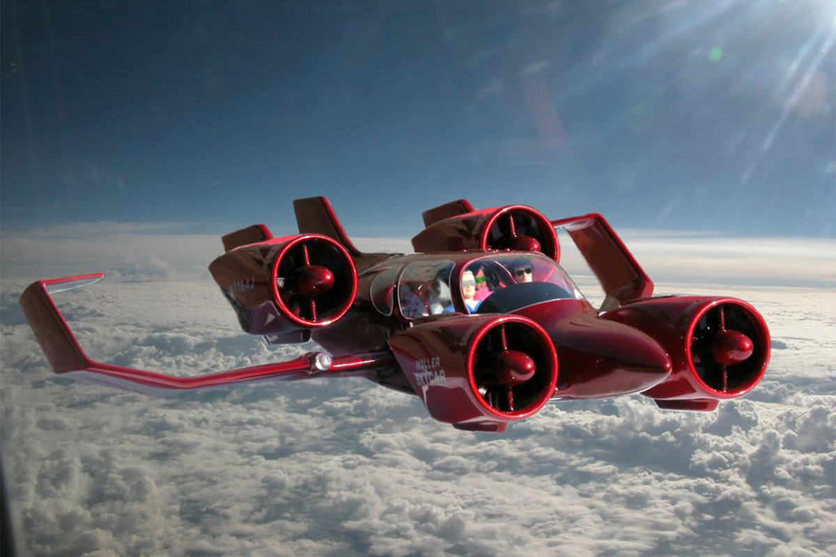 In 2017, flying cars will be on sale