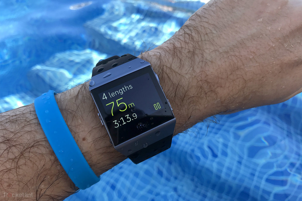 Fitbit Swimming Tracker >> Fitbit Ionic Review Bridging Fitness Tracker And Smartwatch Di