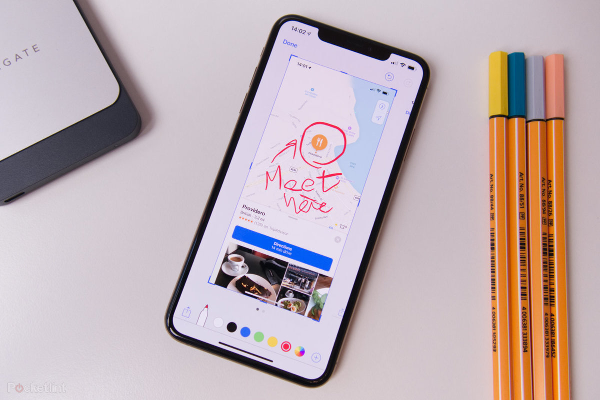 How to take a screenshot with the iPhone XS and XS Max