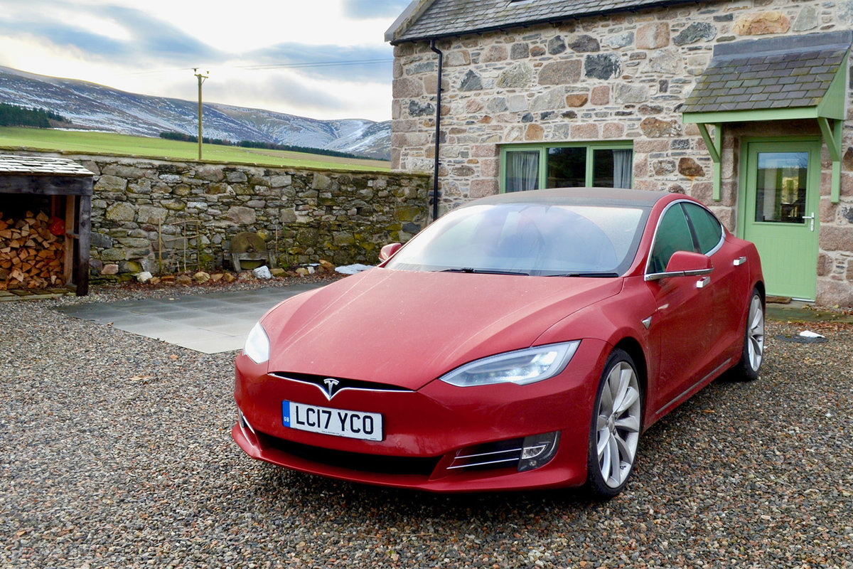 Tesla Model S 100d Review London To Scotland And Back In The