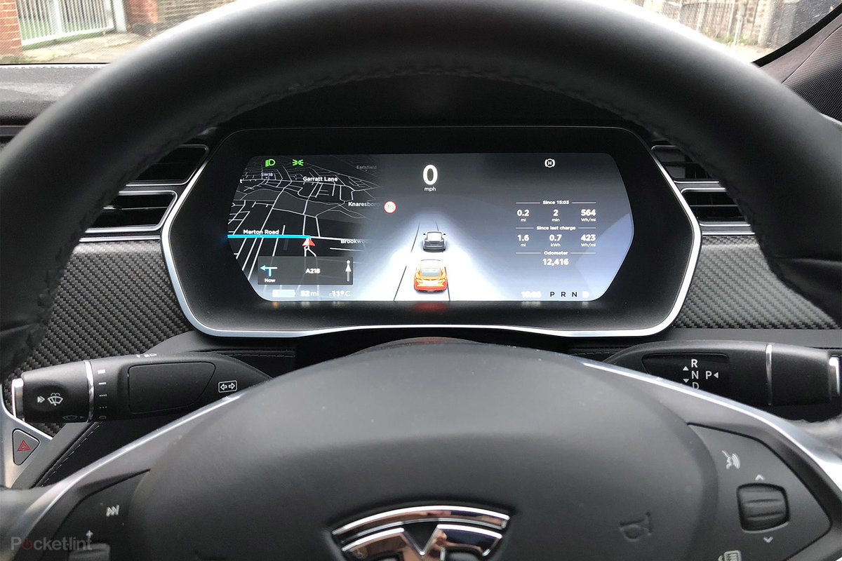 Tesla Model S Interior >> Tesla Model S 100d Review London To Scotland And Back In The R