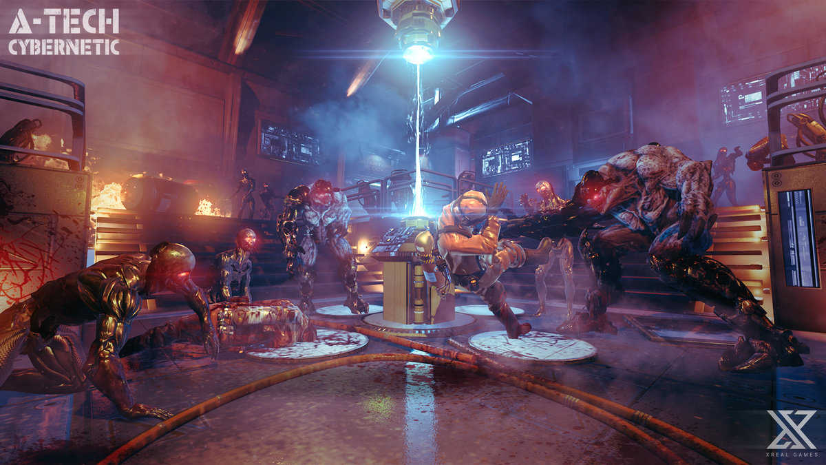 A-Tech Cybernetic VR review: Space-based mutant slaying