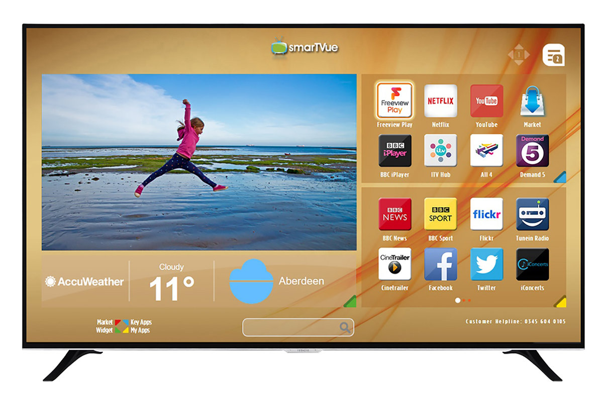 Wow! You can get this mammoth 75-inch 4K HDR TV for under £1,50
