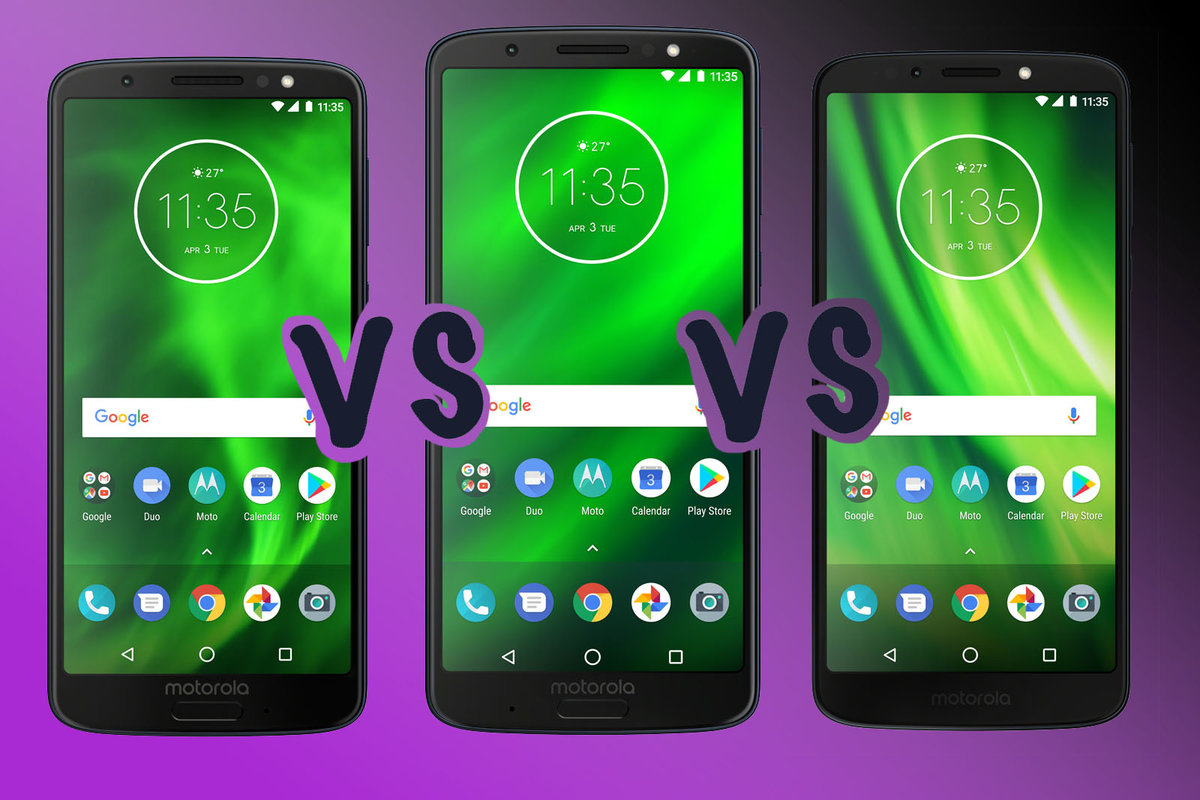 Motorola Moto G6 vs Moto G6 Plus vs Moto G6 Play: What's the di