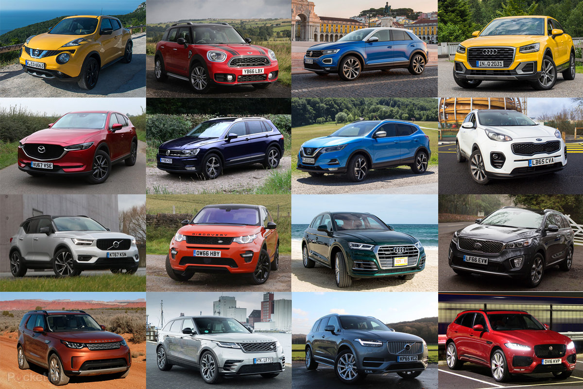 Best Suvs 2018 Top Crossovers Mid Sized And Large Suvs