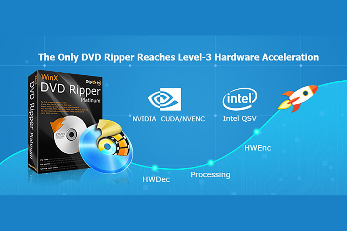 Rip DVD 2018: Why should you try a hardware-accelerated DVD rip