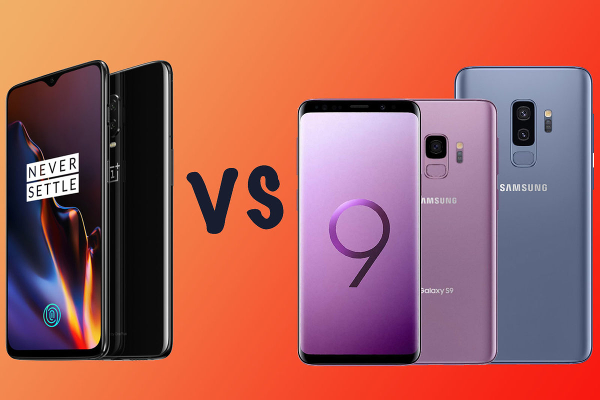 OnePlus 6T vs Samsung Galaxy S9: What's the difference? - Pocke