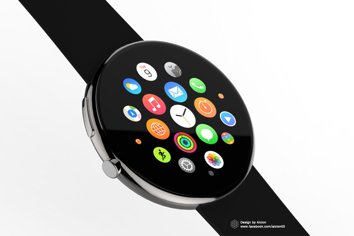 Round Apple Watch Could Be On The Way According To Awarded Pat