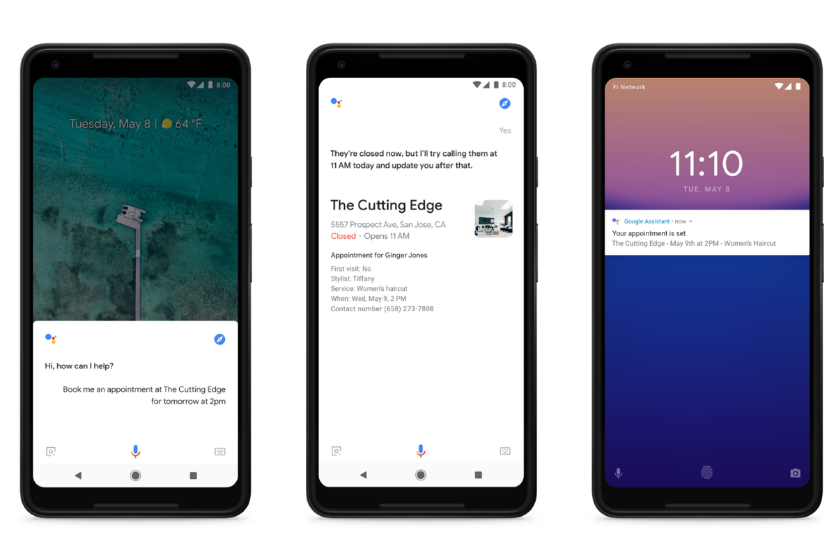 Google Duplex: How the incoming Google Assistant tech helps you