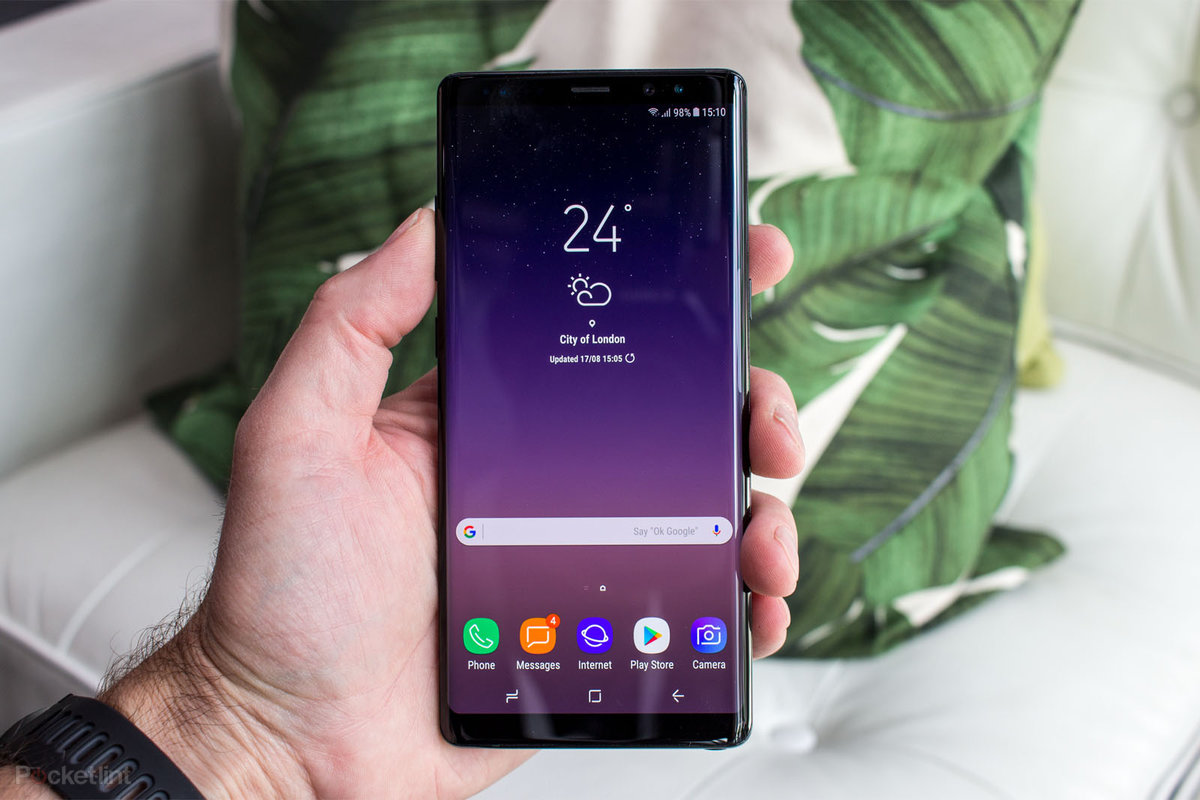 Samsung Galaxy Note 9 definitely won't be getting an in-display