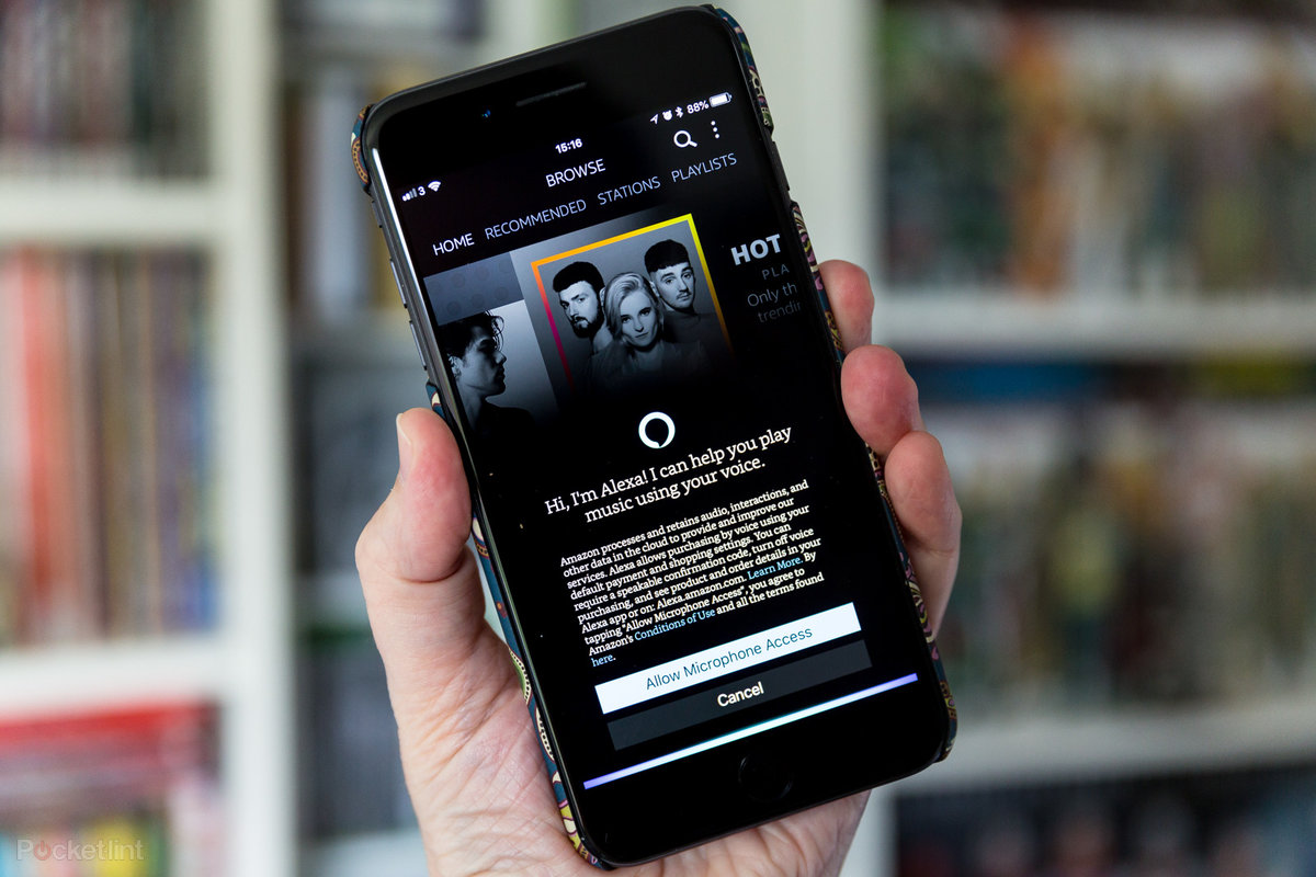 Amazon Music app for iOS and Android now has hands-free Alexa v