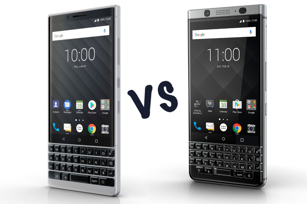 5ae47e7a60a BlackBerry Key2 vs BlackBerry KeyOne: What's the difference?