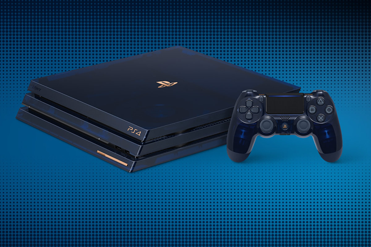ps4 pro limited edition 2tb