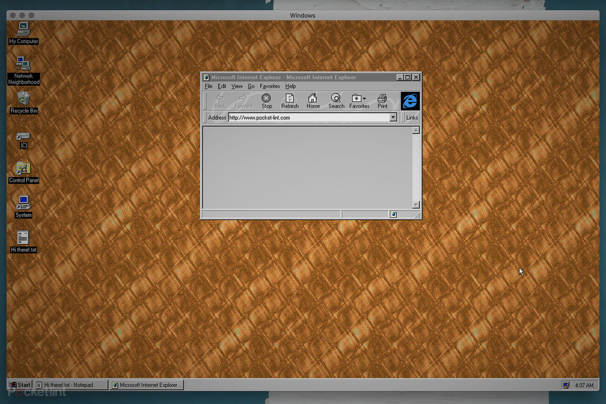 You can now run Windows 95 as an app on your Mac or PC