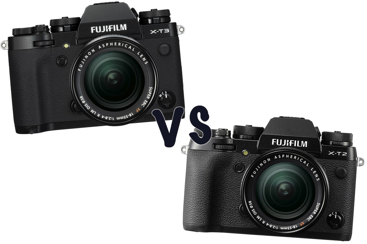 Fuji X T3 Vs T2 Whats The Difference Fujifilm Xt2 Body Only