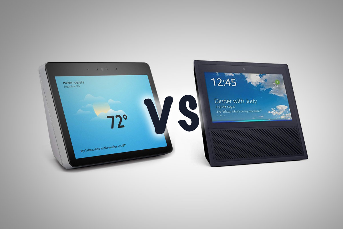 Amazon Echo Show 2018 Vs Amazon Echo Show 2017
