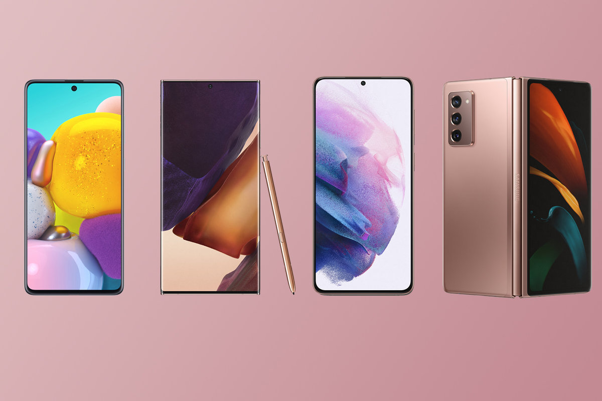 Best Samsung Phones 2021 Galaxy S Note A And Z Compared