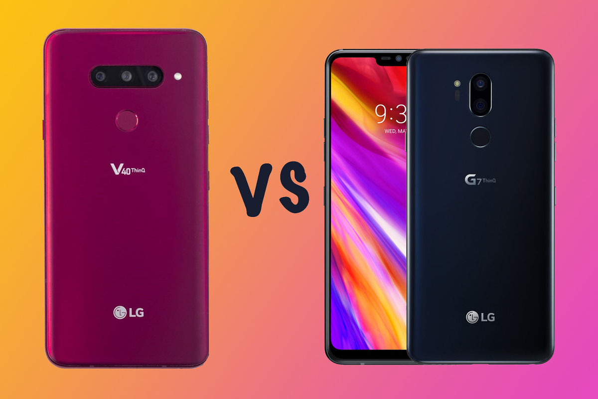 Compare Phones Side By Side >> Lg V40 Vs Lg G7 Thinq What S The Difference