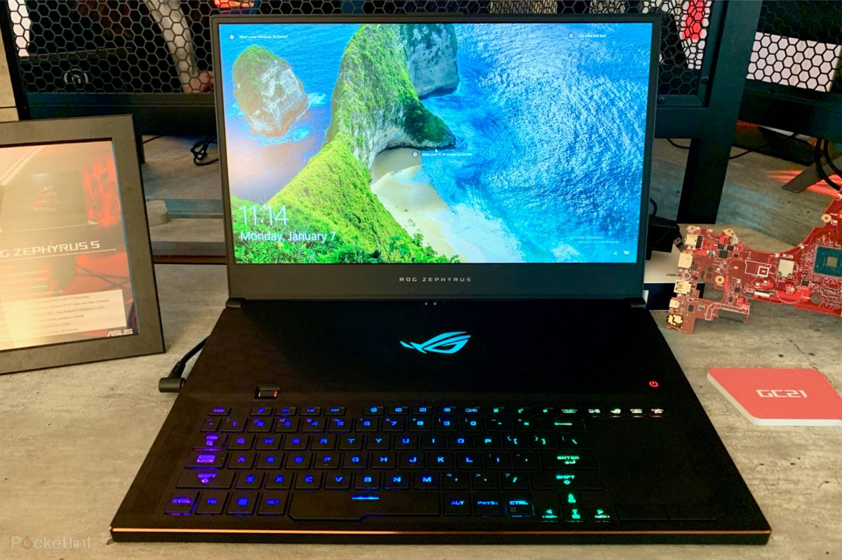 Asus Rog Zephyrus S Gx701 Features Ultra Slim Design And Nvidia