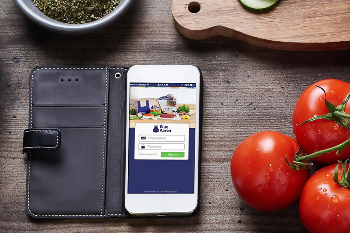 Blue Apron App - Discover the Best American Meal Kit Service with Easy Ingredients and Recipes