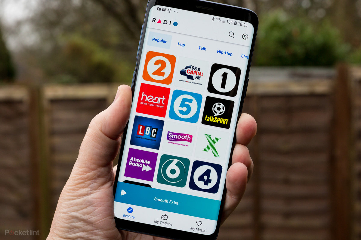 Radio by Deezer is a subscription free radio streaming app