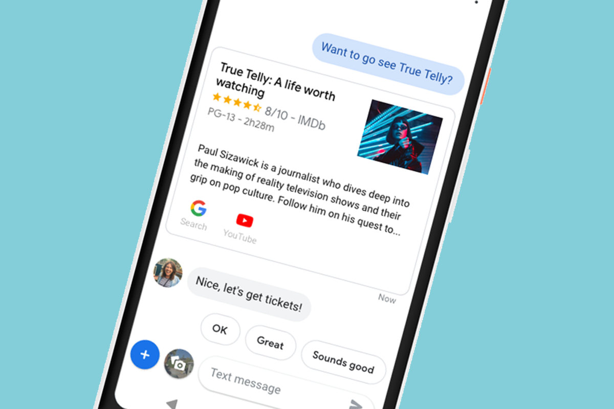 Google brings Assistant to Messages on Android - Pocket-lint