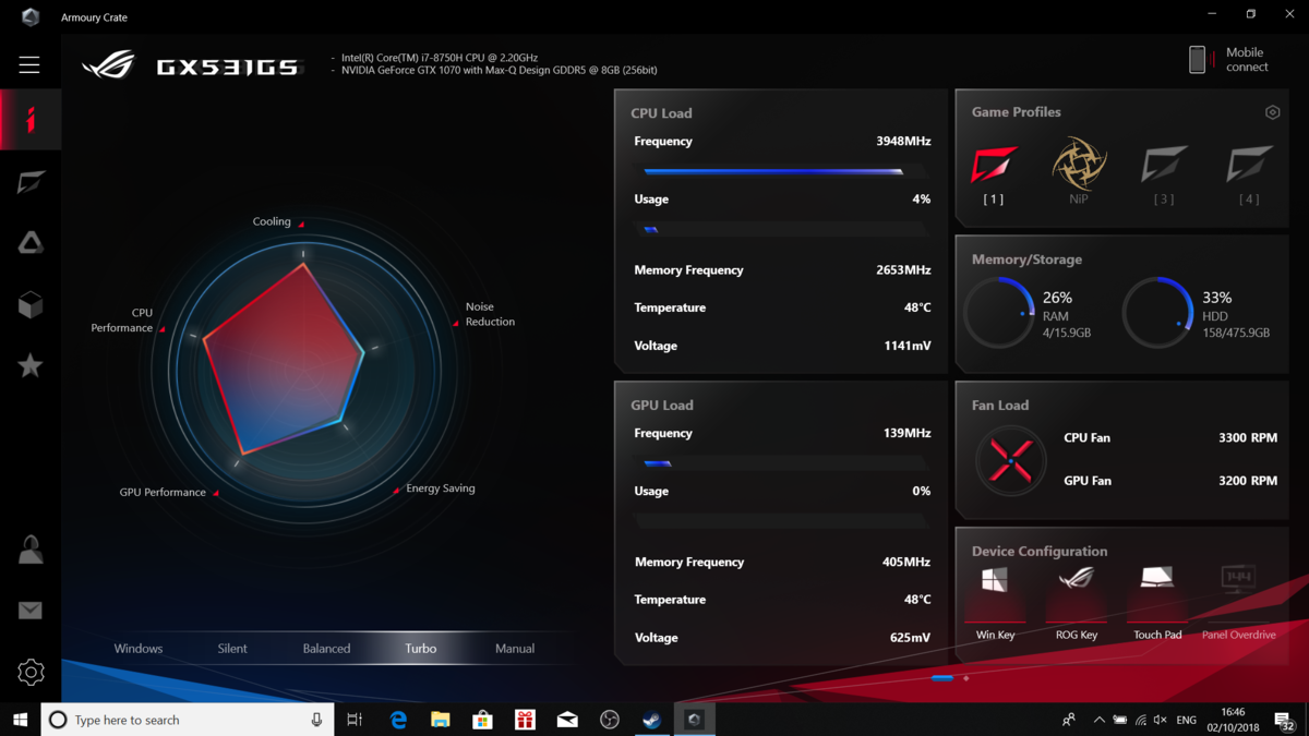 Asus ROG Zephyrus S GX531 with Nvidia RTX review