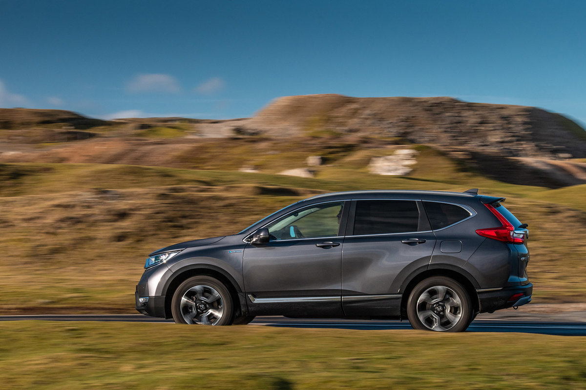 Honda CR-V Hybrid review: Quietly unconventional