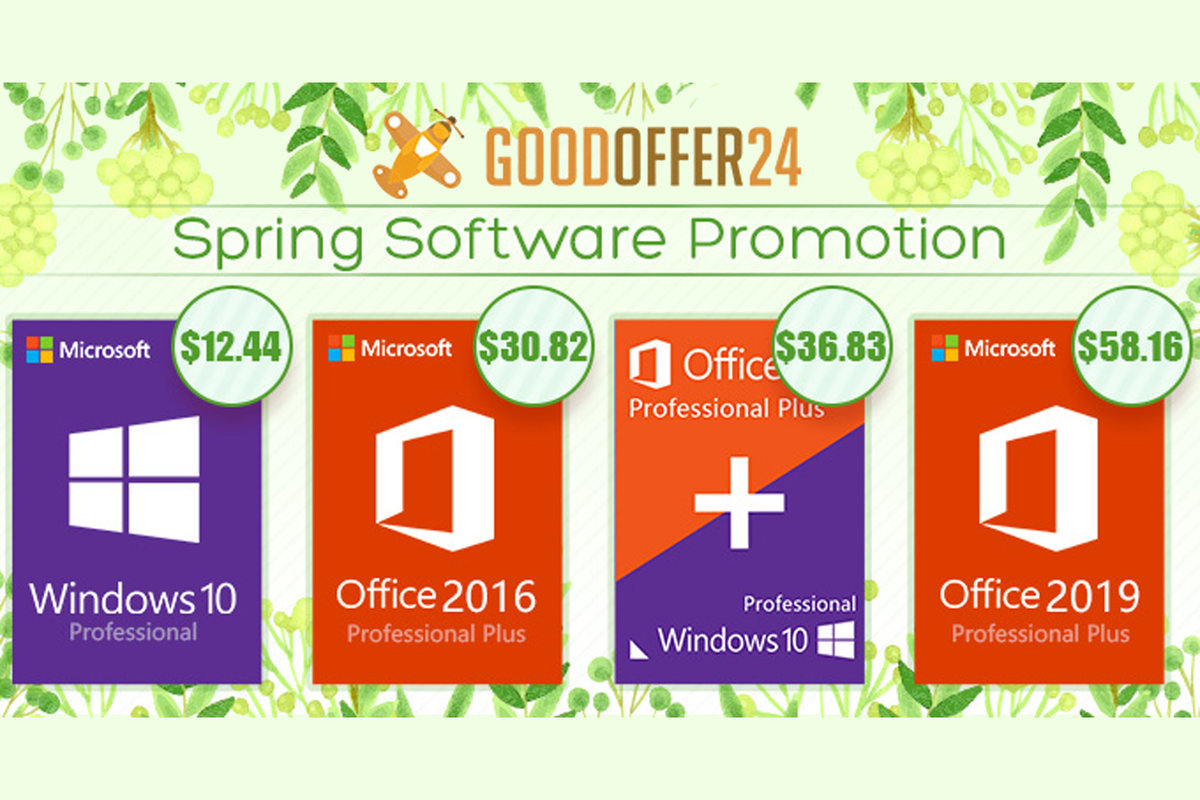 Get Windows 10 Pro and Microsoft Office for $37 (around £28) -