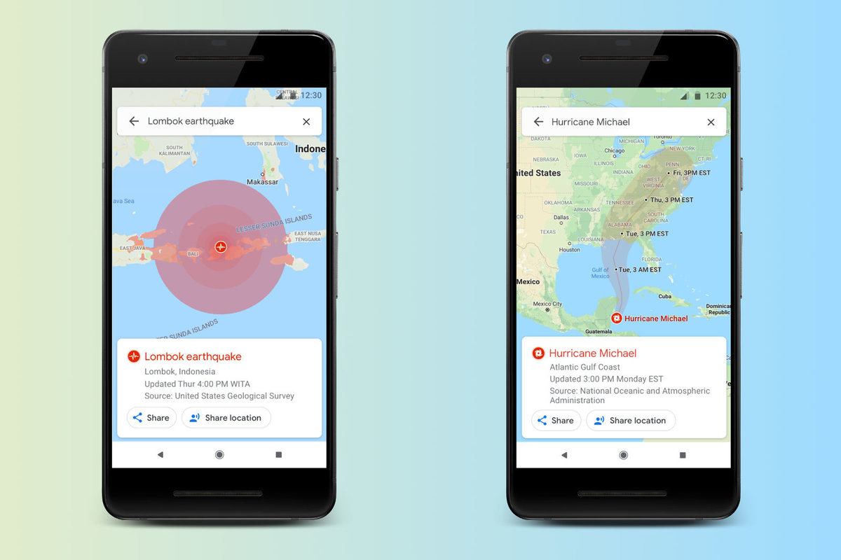 Google Maps will soon help you navigate around natural disaster
