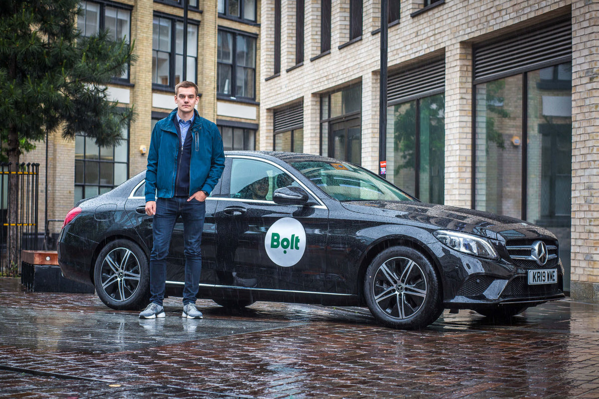 Bolt - formerly Taxify - relaunches in London to compete with U