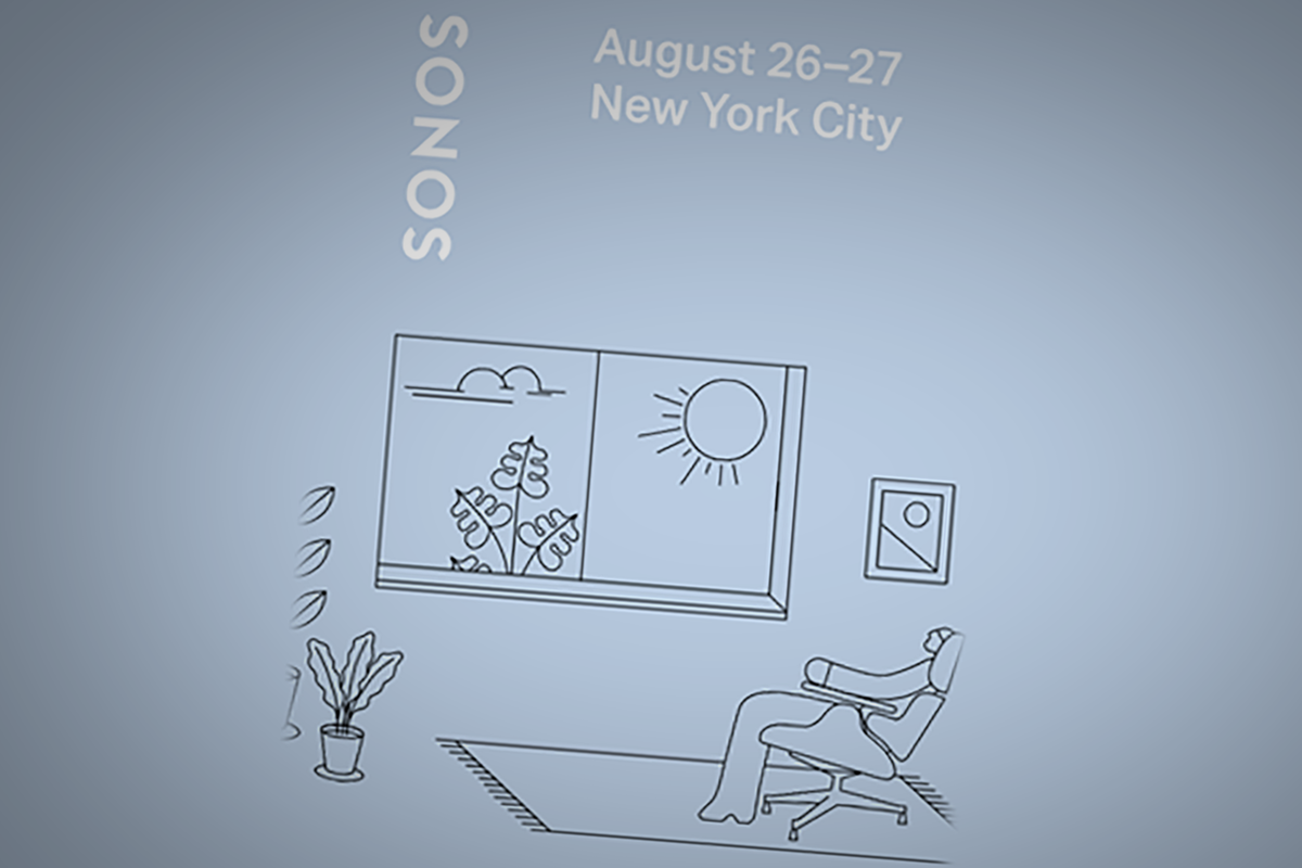 Sonos sends invite to August event: New hardware in store?