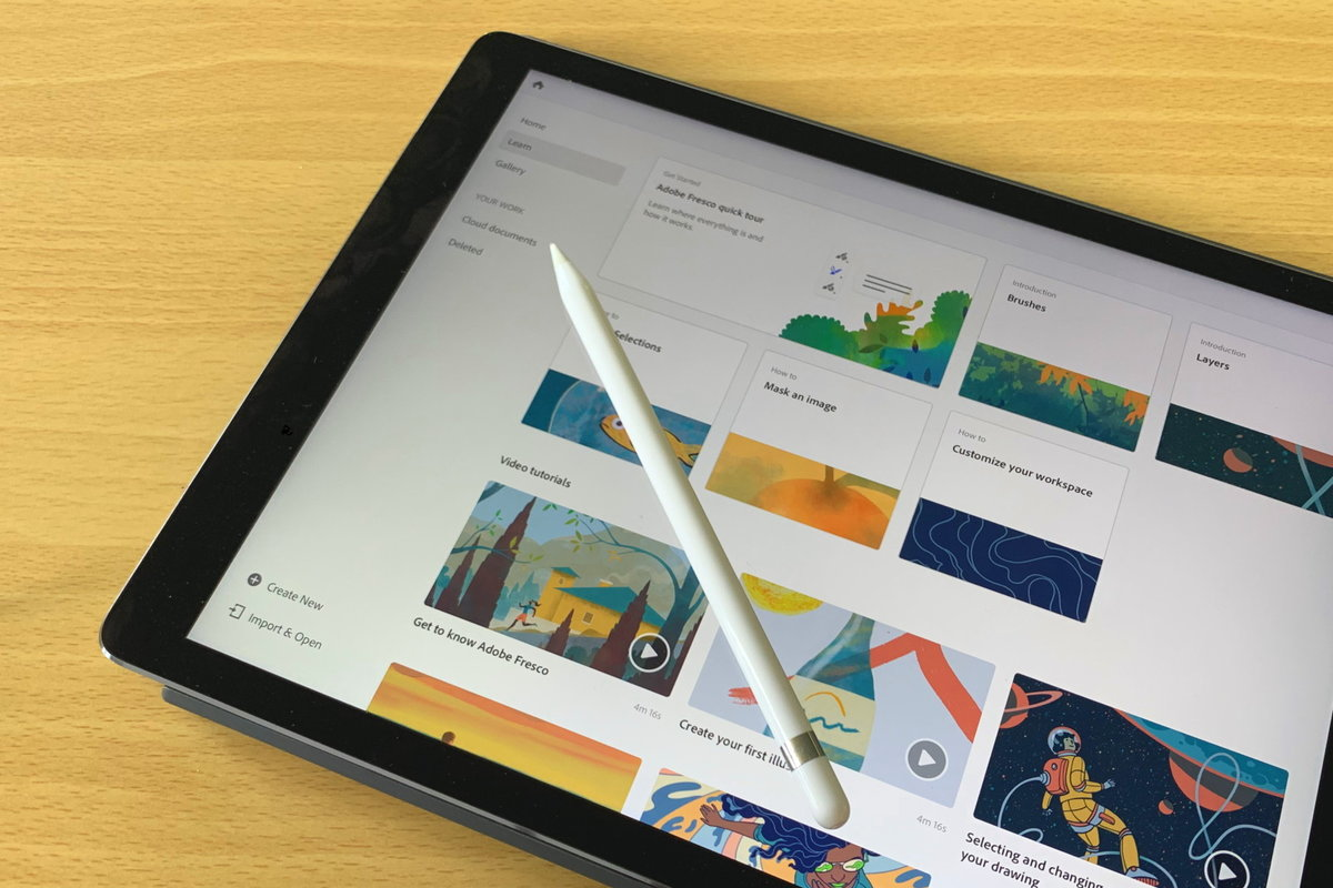 Inside Adobe Fresco: Adobe's next-gen painting and drawing app