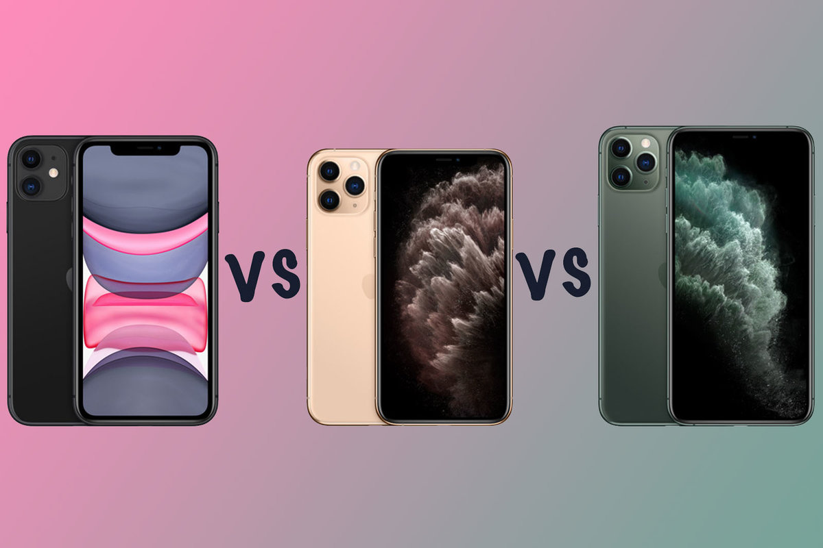 Apple iPhone 11 vs iPhone 11 Pro vs iPhone 11 Pro Max Which sh