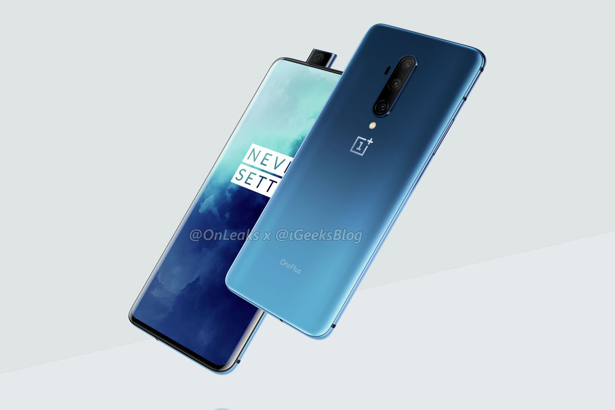 OnePlus 7T Pro render appears online following official look at OnePlus 7T
