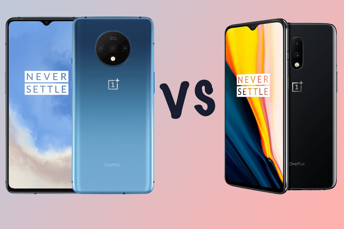 Kết quả hình ảnh cho onePlus 7T vs. OnePlus 7: What's The Difference?