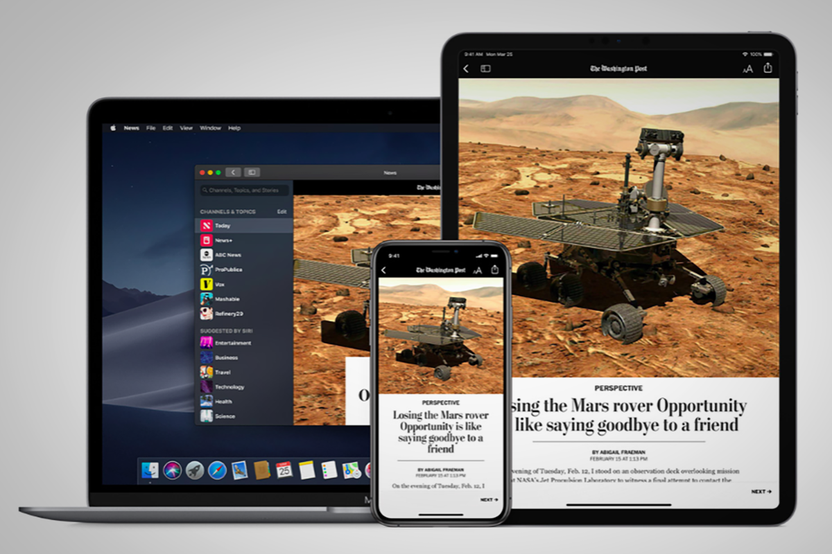 Apple News+ subscription service launches in the UK for £9.99 per month