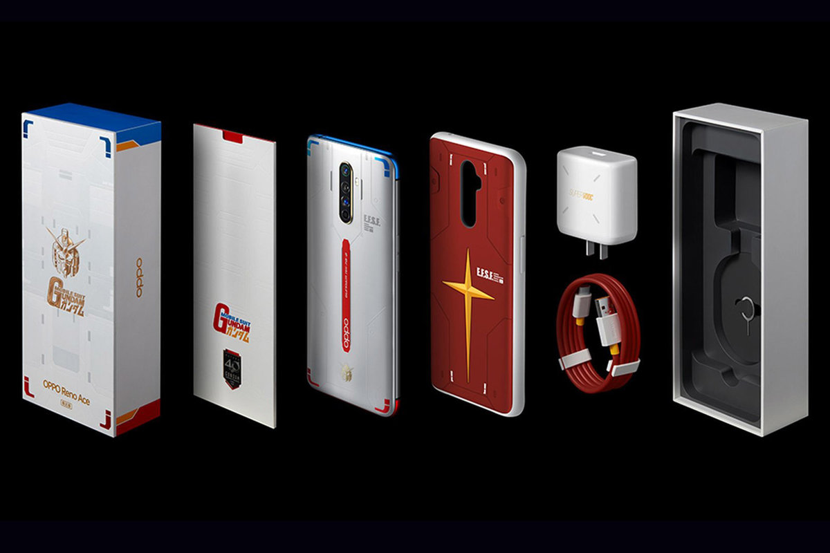 Image result for Oppo Reno Ace Gundam Edition