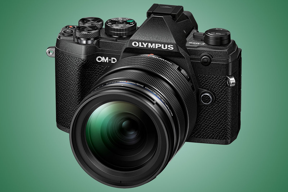 Olympus OM-D E-M5 Mark III offers pro features in a lightweight. weatherproof design