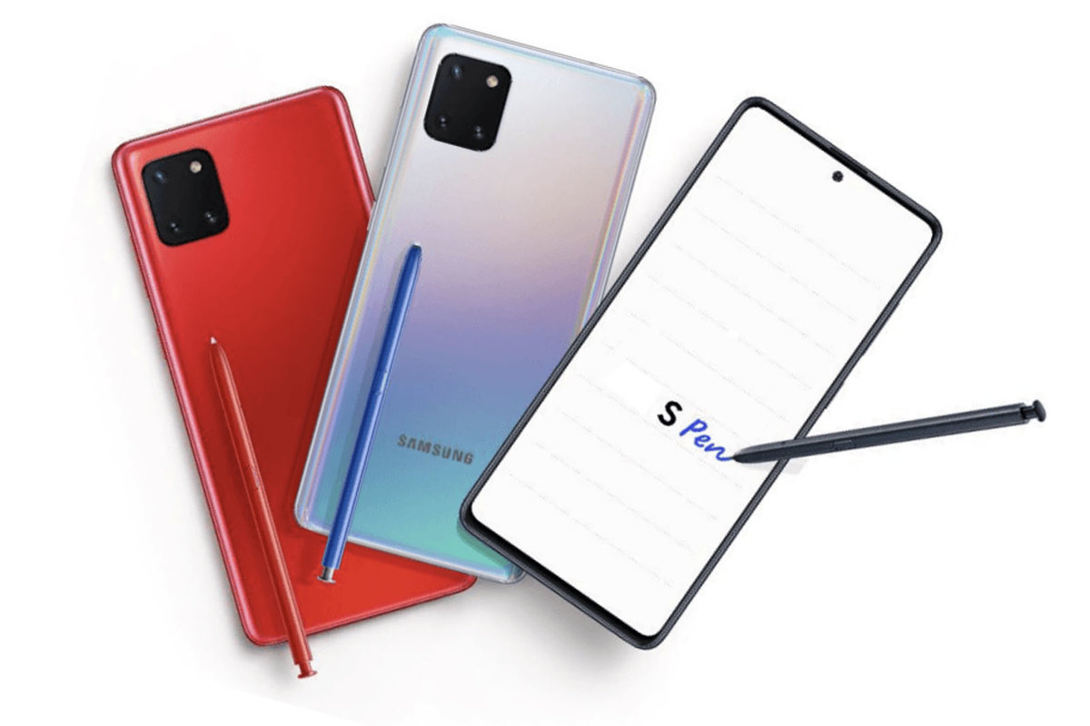 Samsung Galaxy Note 10 Lite Full Specifications Leak