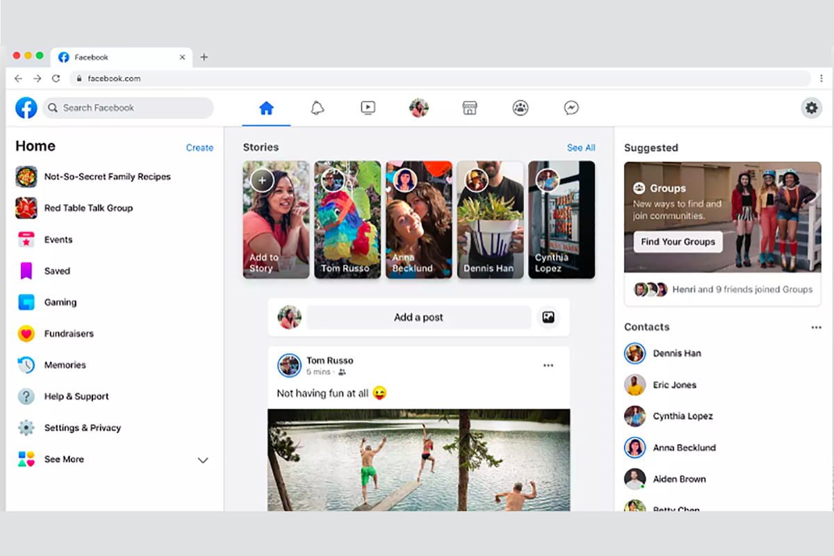 The New Facebook Desktop Redesign Is Finally Rolling Out Facebook has had a windows desktop app for messenger for a while. the new facebook desktop redesign is