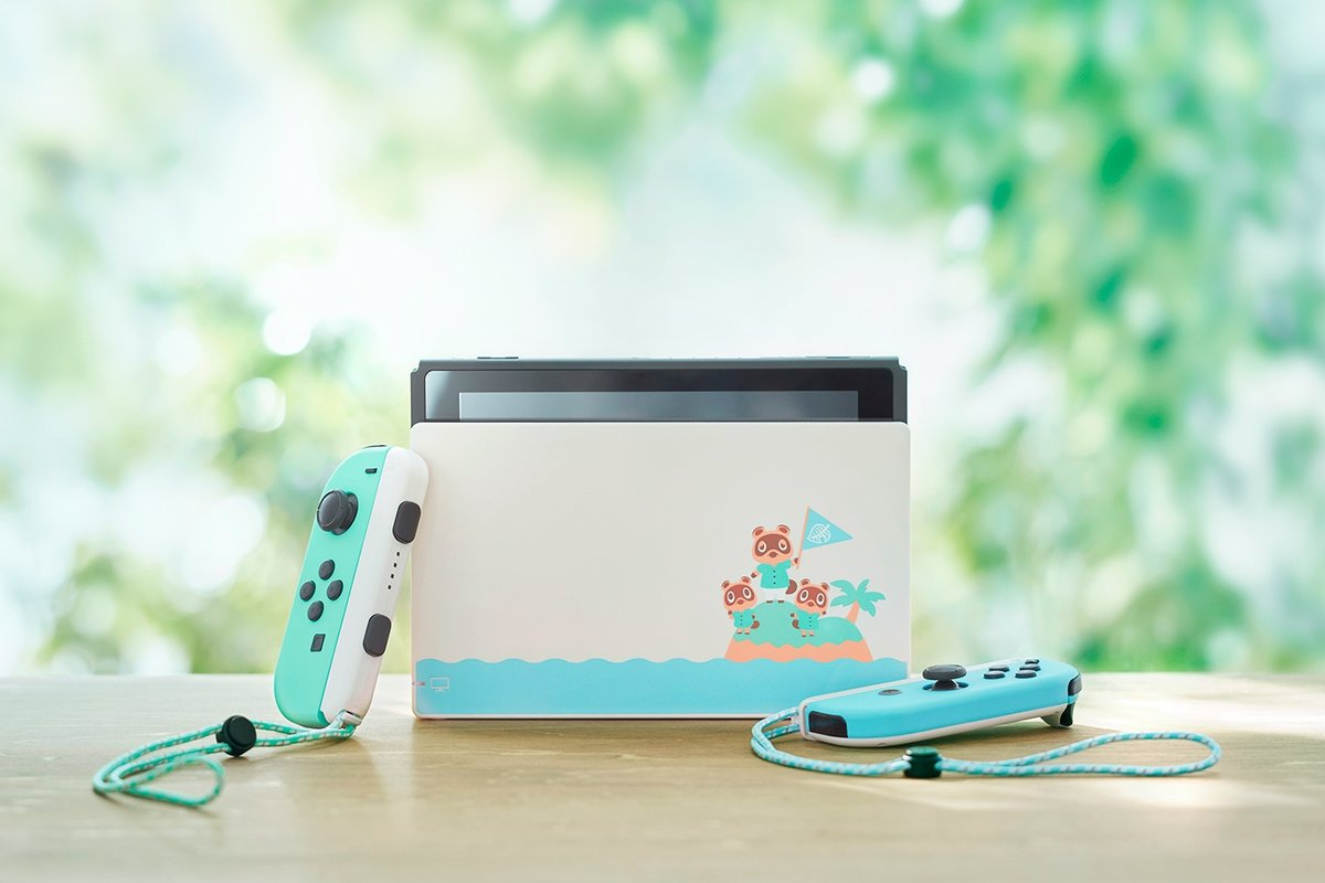 Nintendo Releases Limited Edition Switch For Animal Crossing