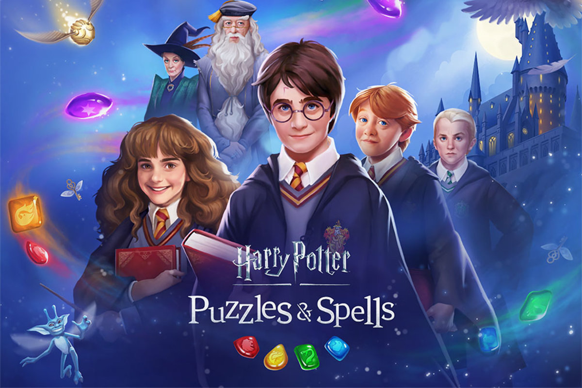 Harry Potter Puzzles Spells Game Now Open For Pre Registratio