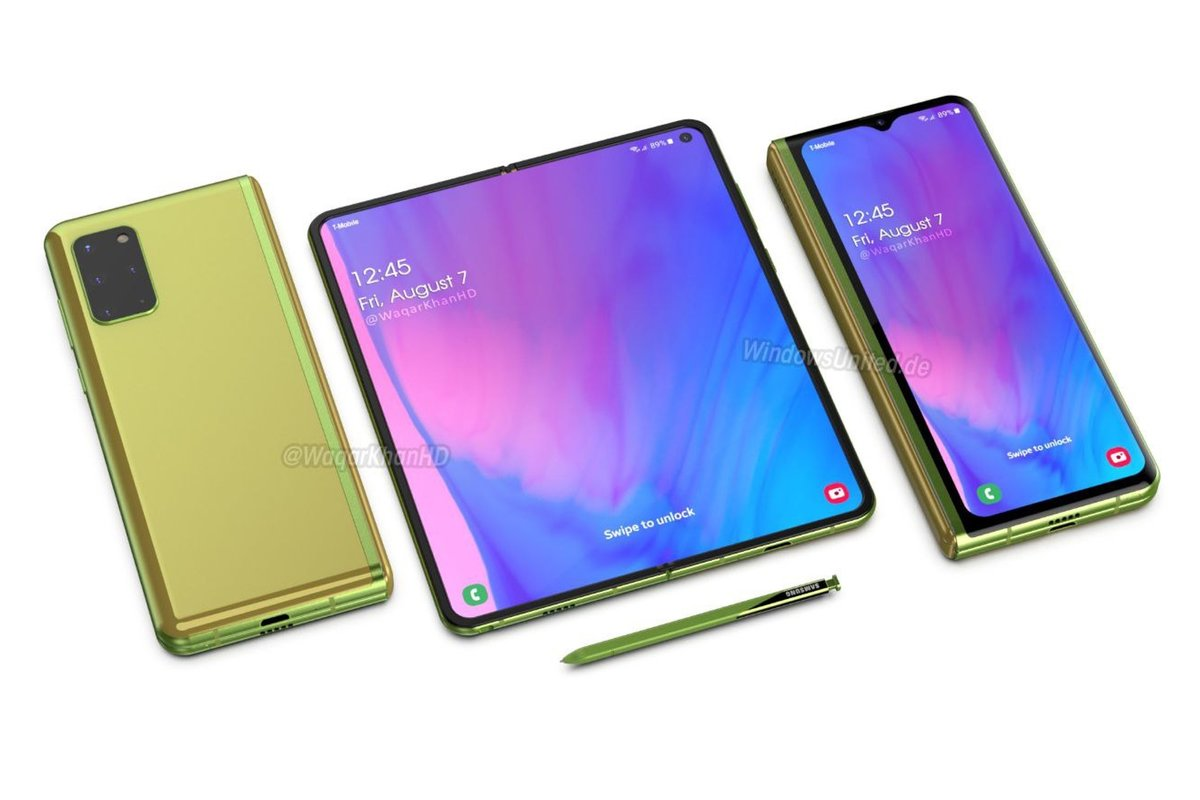 New renders show the Samsung Galaxy Fold 2 - Pocket-lint