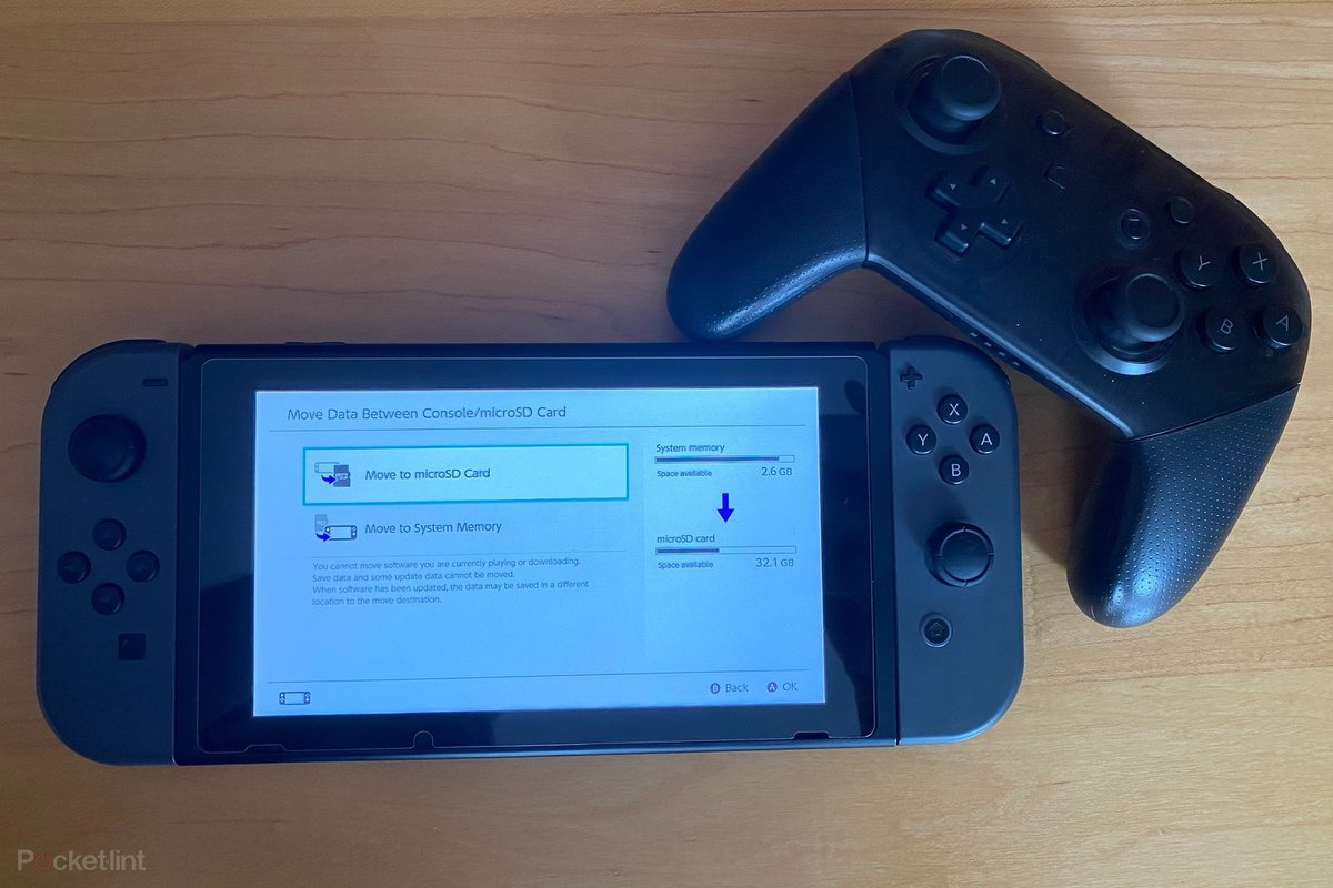How To Move Downloaded Nintendo Switch Games To Microsd Card