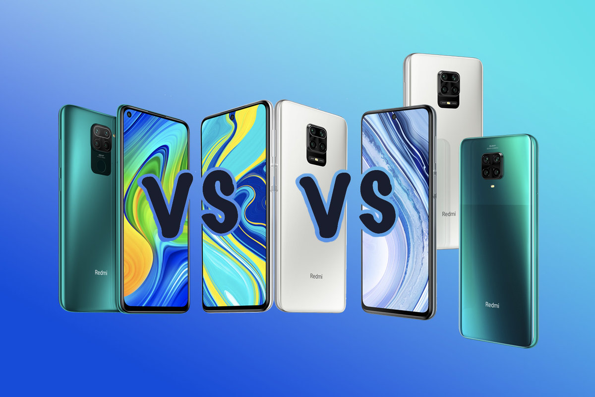 Redmi Note 9 Vs Note 9s Vs Note 9 Pro What S The Difference