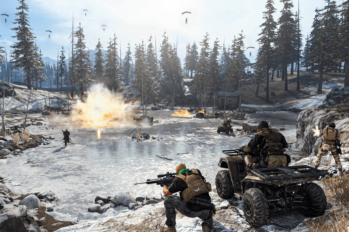 Call Of Duty Warzone Might Be Getting A New Winter Map