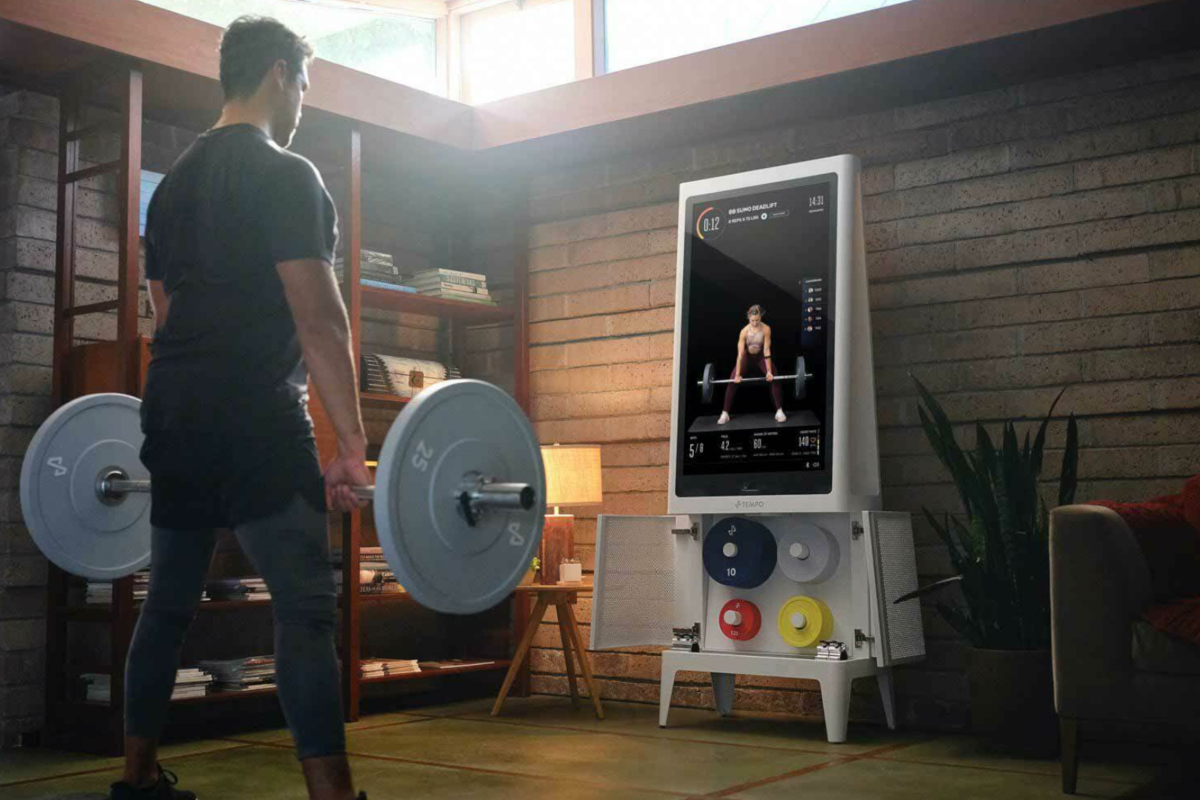 Tempo Gives You A Personal Trainer And Weights At Home