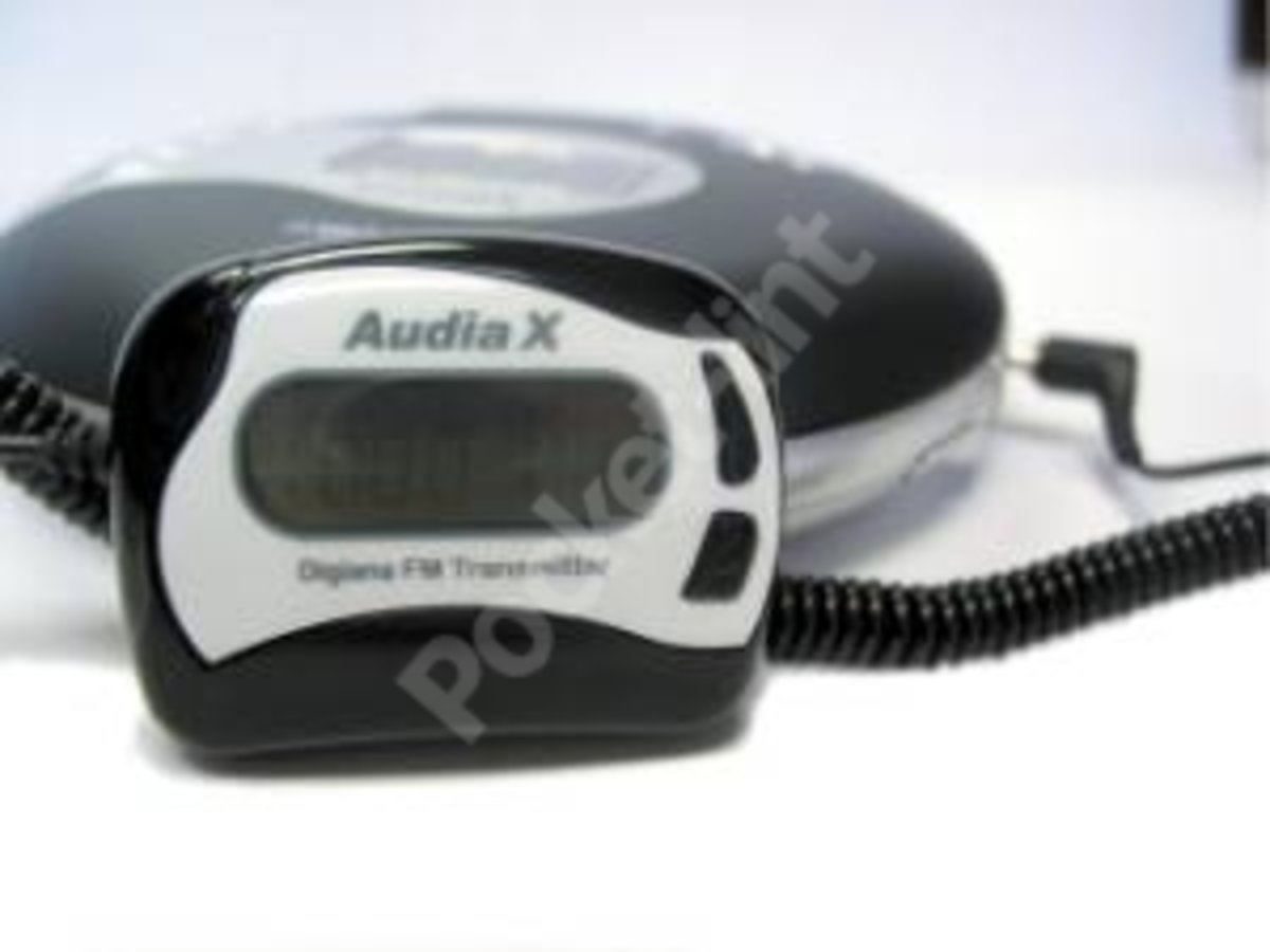 Audiax Fm Transmitter Portable