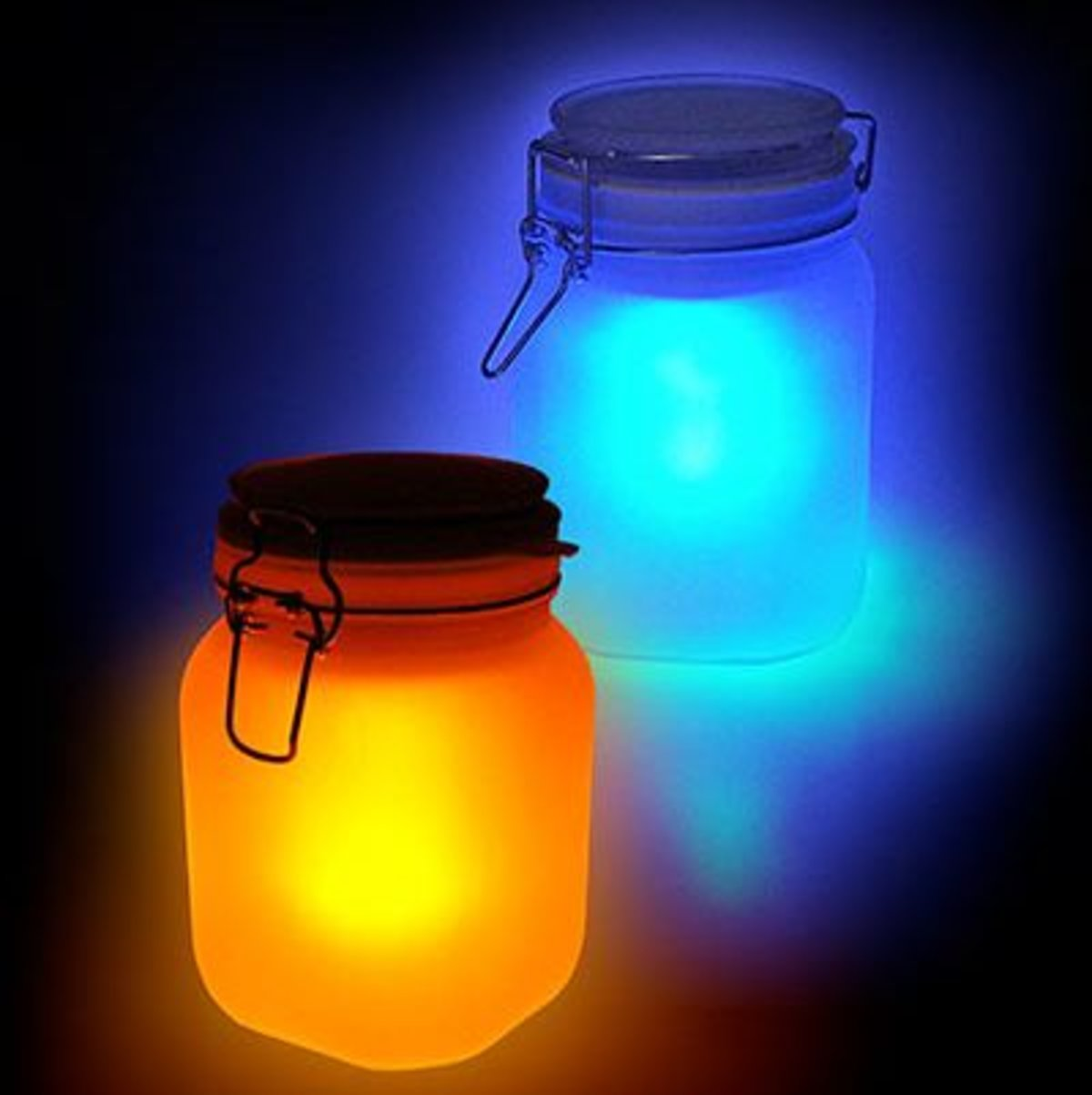 Solar Jars Sun And Moon Solar Powered Jars Pocket Lint